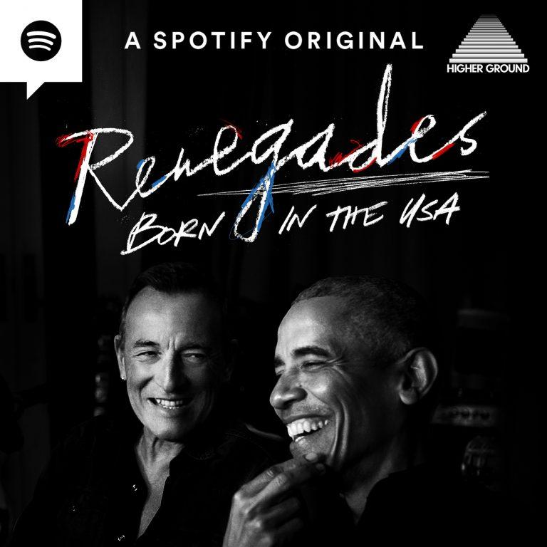 barack obama and bruce springsteen podcast