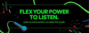 Spotify announces new focus on women creators