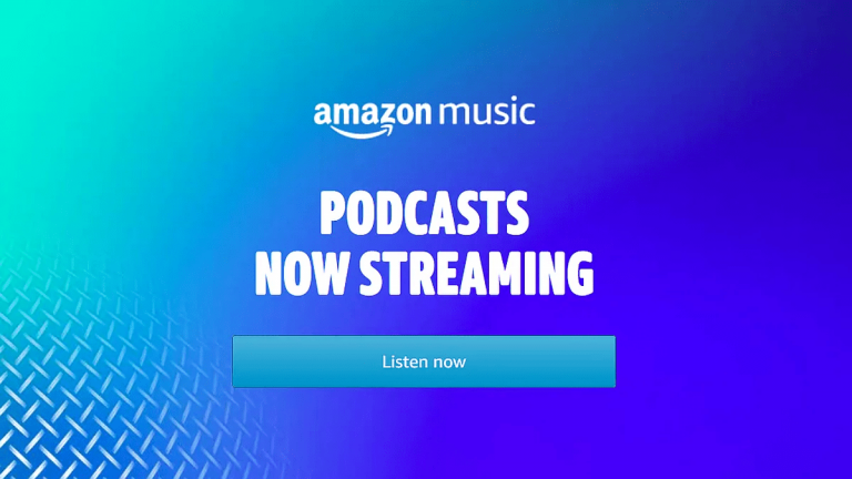 amazon music for podcasts