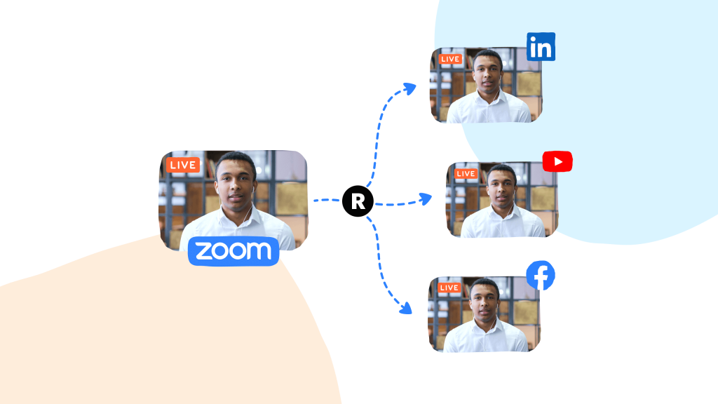 linkedin live events and zoom