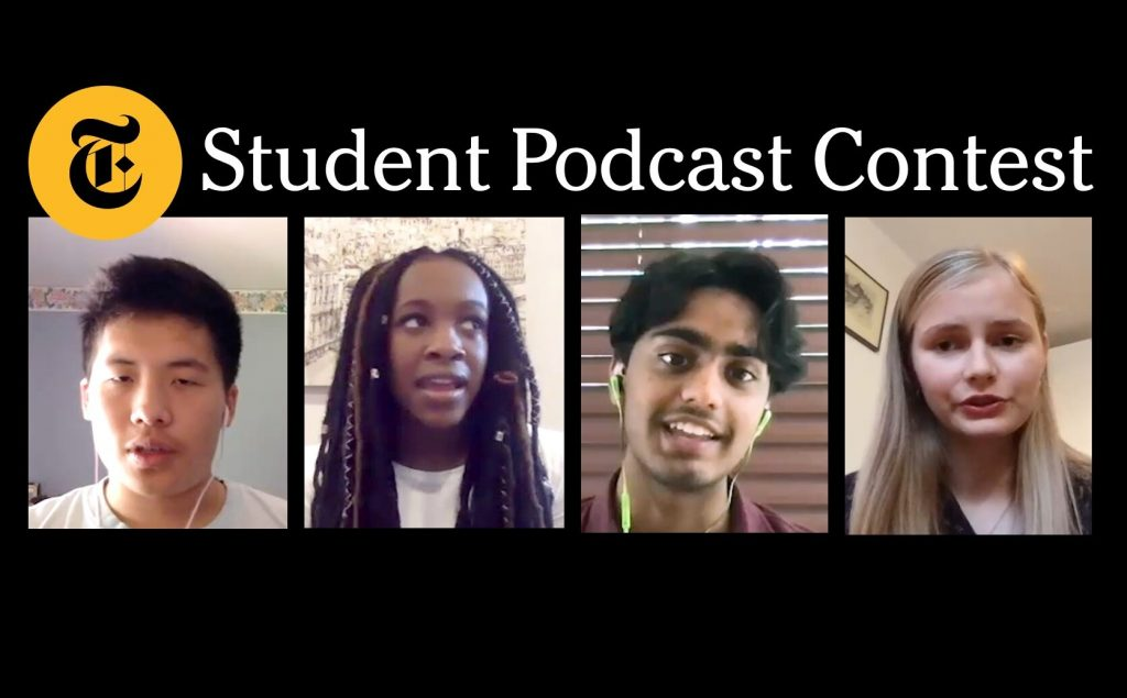 New York Times Student Podcast Contest
