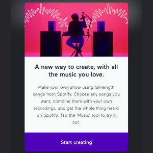 add music to podcast using anchor