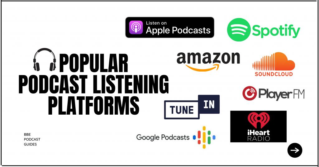 podcast listening platforms