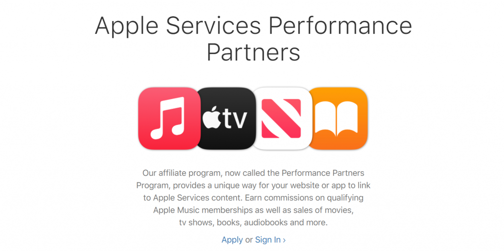 apple services performance partner program
