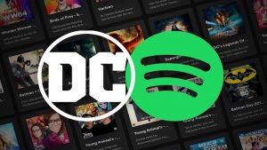 DC Comics spotify podcast