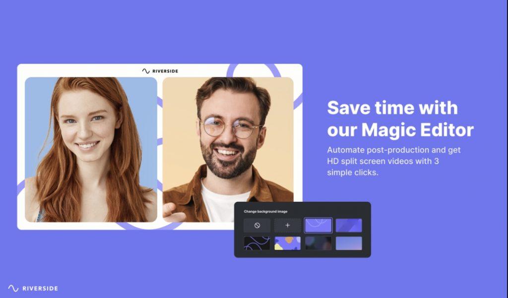 Riverside 2.0 magic editor
