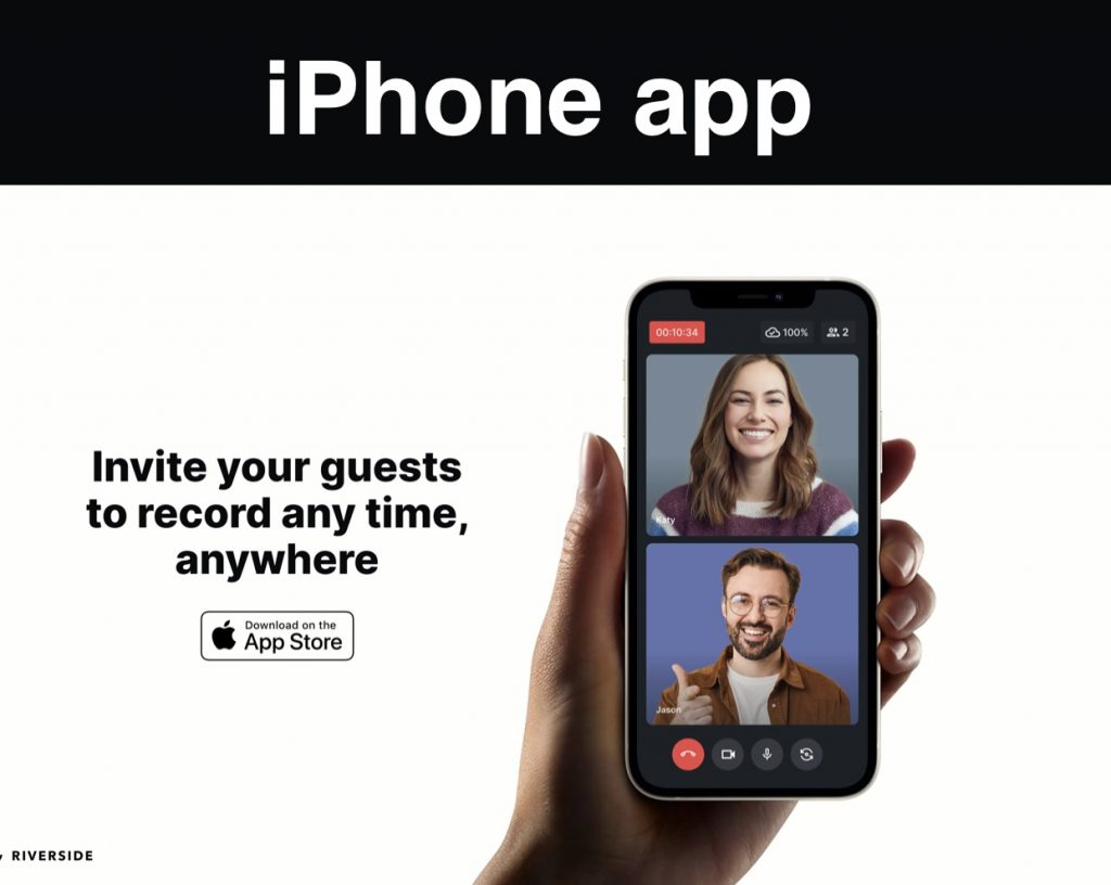 Riverside 2.0 iphone recording